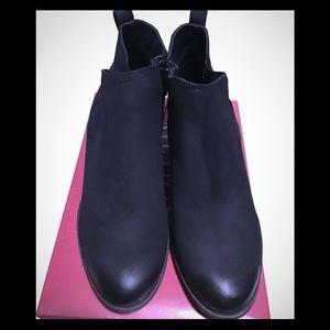 Ankle Black Boots Merona